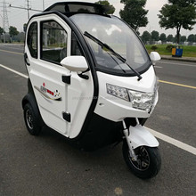 Electric 3 wheeler Closed Car Passenger Tricycle 500W to 1000W