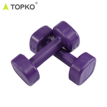 TOPKO Hot selling factory price workout recovery home exercise fitness gym adjustable PP dumbbell set