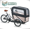 Three wheels cargo bike/Cargo tricycle with cabin UB9036E