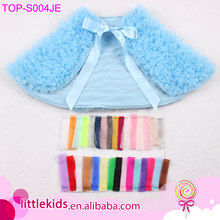 Wholesale Winter Kids Shawl Soft Chiffon Cape Warm Shawls For Dresses For Girls