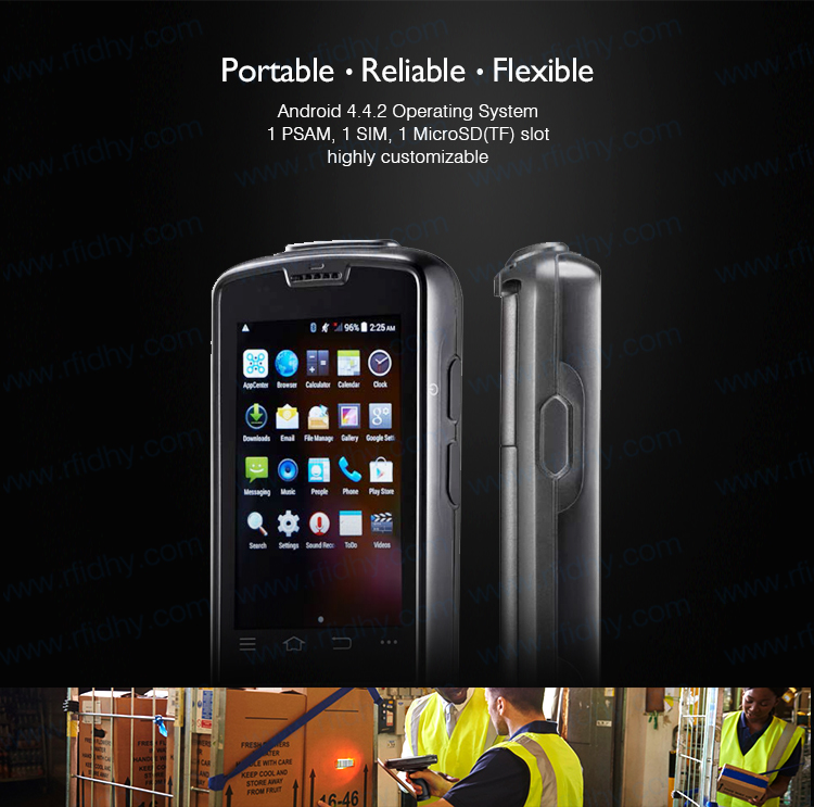 HY-R4000 Android Rugged Handheld NFC Reader