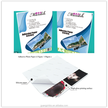 Premium High Glossy Matte / Satin Self Adhesive Photo Paper, Super White Sticker Paper