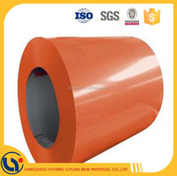 China Coal color Prepainted GI steel coil / PPGI / PPGL/ color coated steel sheet