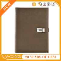 v-ding from china supplier new best sell products suitable for office leather file folders clasp