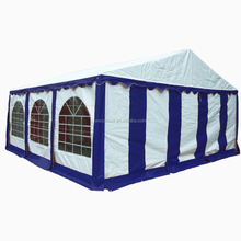 Heavy duty 4x6m PVC Wedding party tents with full set of sidewalls and strongest frame