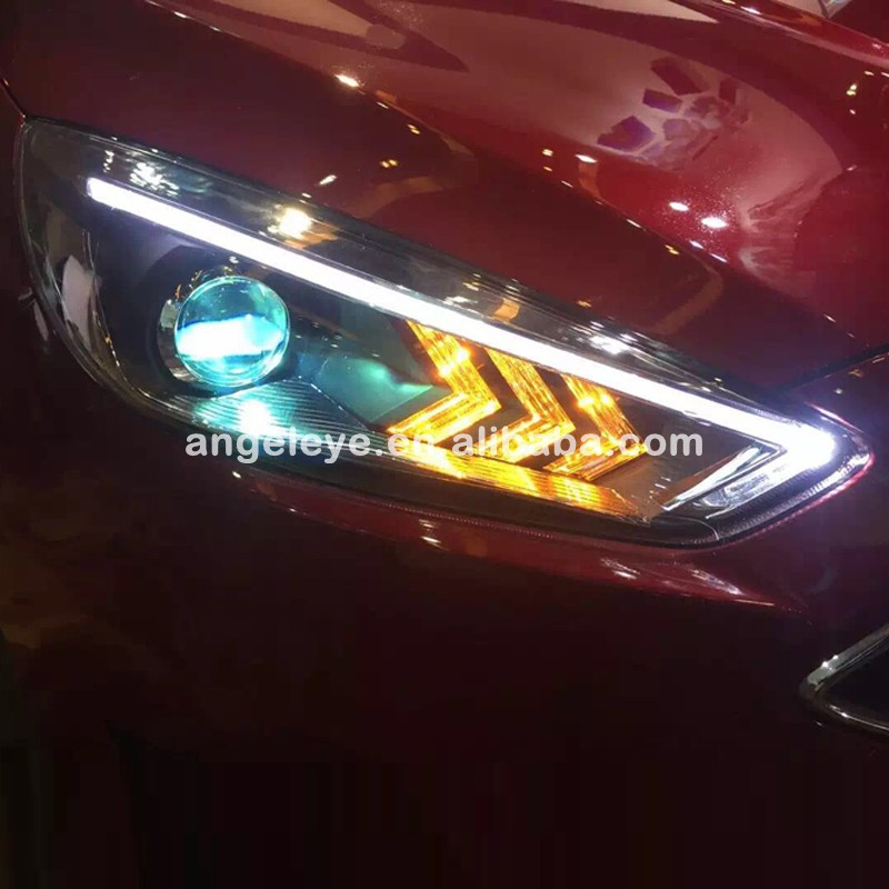 2015 Year For Ford For Focus Mustang Style LED Head Lamp