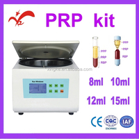 prp centrifuge matched with tubex prp kit/8ml 10ml 12ml 15ml prp kit/platelet rich plasma prp kit