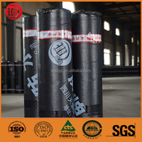 1.2mm Polyester Cover Self Adhesive Bitumen Waterproof Membrane