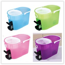 House Cleaning Extensible Handle Pole 16L Bucket with Pedal New Arrival PRO 360 Spin Go Catch Mop