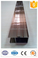 color anodized aluminium profile for making door and windows/decoration