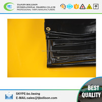 Waterproof and Fire Retardant 680 GSM Rip-Stop PVC Tarps Heavy Duty Roof Cover, Trailer Cover and Truck Cover