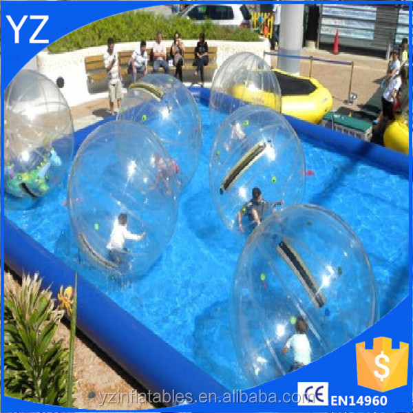 Inflatable water pool toy balls water roller ball price