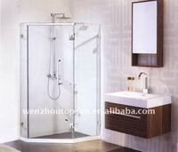 Luxury sanitary ware,Modern shower room,tempered glass shower screen