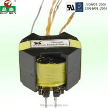 Horizontal Vertical SMD EF20 12v transformer 12v 230v 600 OHM 0MA DC for halogen lamp LED