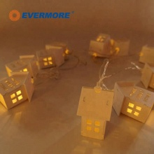 Evermore Home Sense Party Cross Light String Decoration