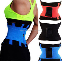 2016 new Hot styles sports slimming waist trainer belt power belt for back support