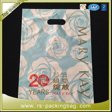 OEM printed custom made shopping bag / hdpe plastic shopping bag