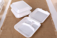 Manufacture EPS foam food container/Clamshell box