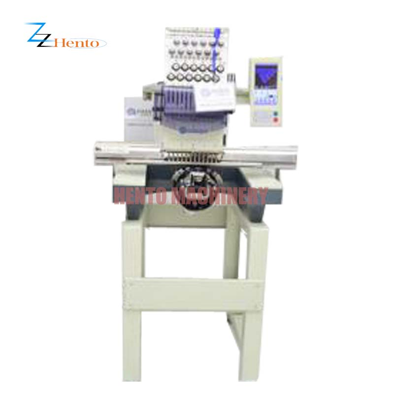 High Effective Used Computerized Embroidery Machine