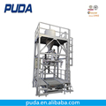 2000kg big bag automatic cement packing machine with conveyor belt