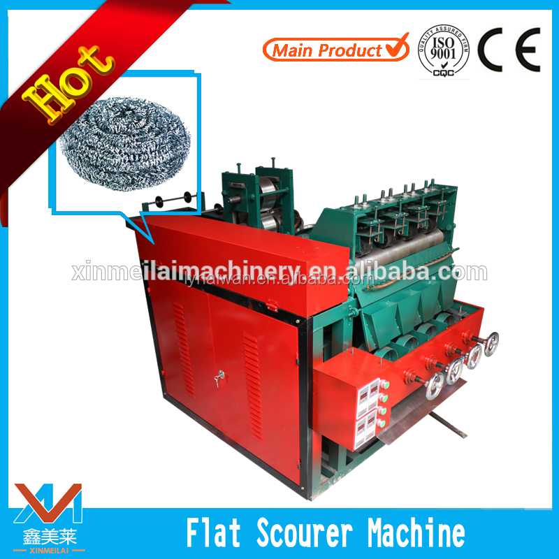 stainless steel wire cleaning brush mesh scourer ball making machine from manufacturer