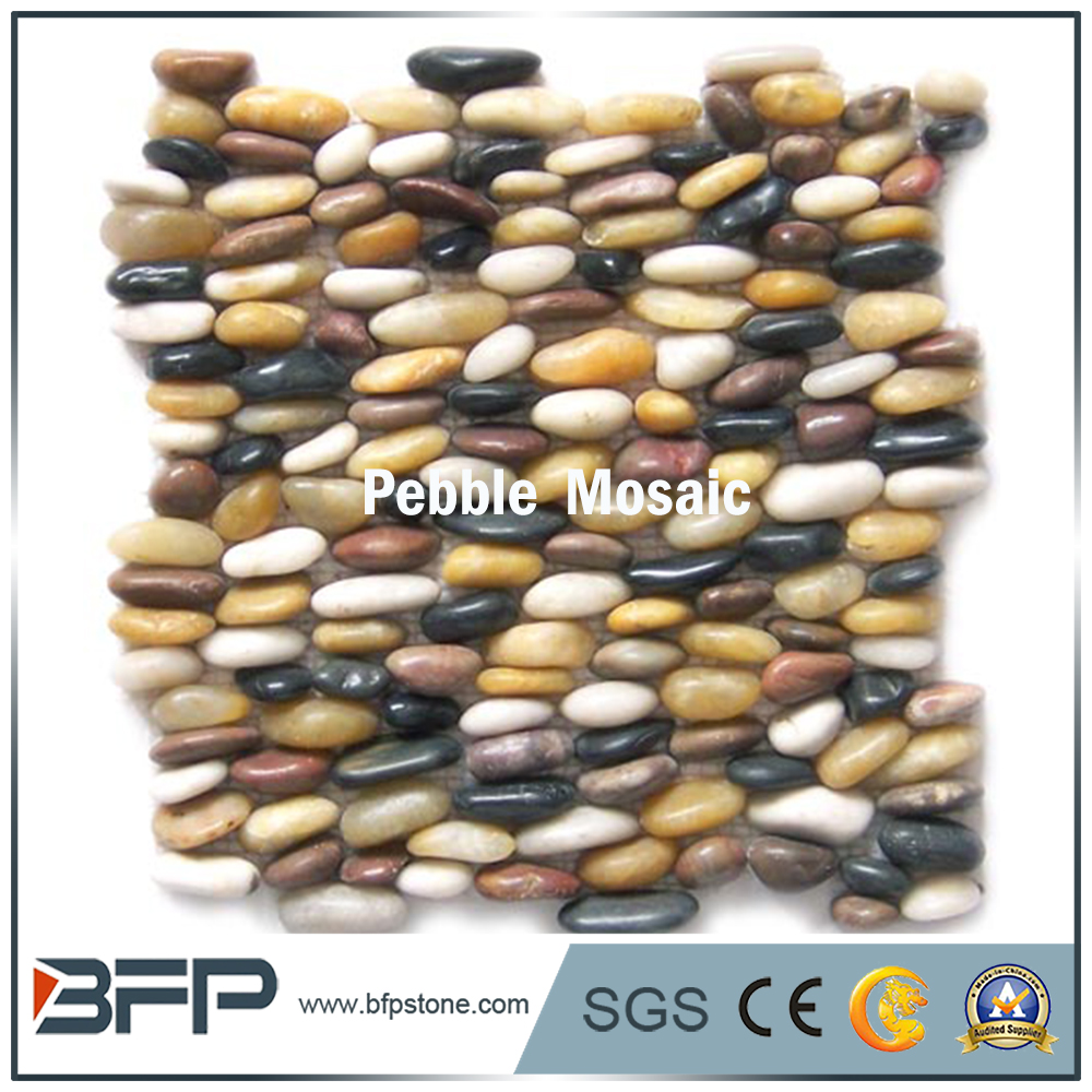 2017 New Pebble Stone Standing Mosaic Tile