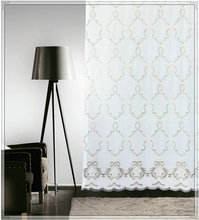 High quality embroidered sheer curtain ideas for interior room design