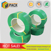 high tensile polyester band strap for alfalfa bulked