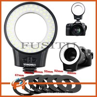 YONGNUO WJ-60 Macro Photography LED Ring Light for DLSR Camera