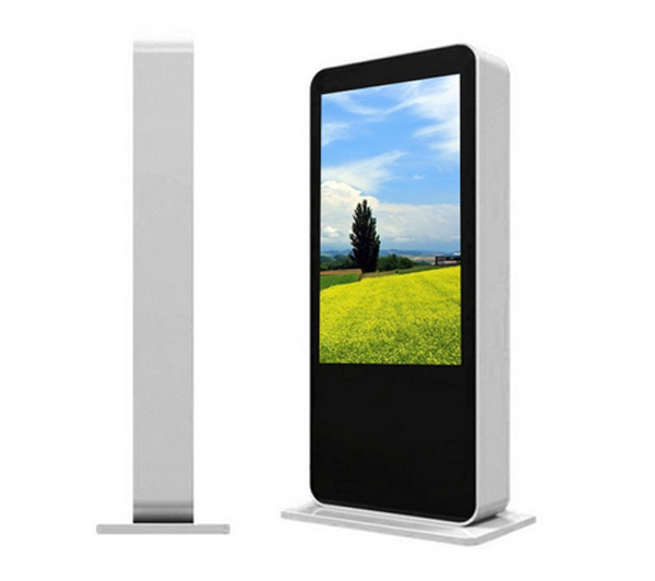 46 Inch Outdoor High Brightness Vertical Wireless LCD Advertising Monitor Totem LCD Digital Signage