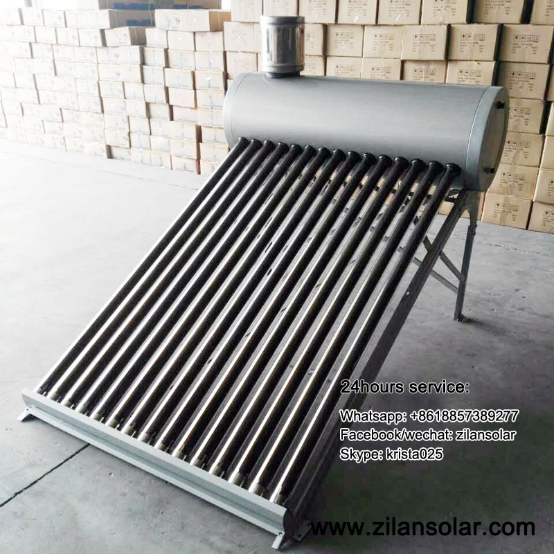 Best prices solar water heater calentador de agua solar 150liters for Mexico Colombia Argentina Chile Peru