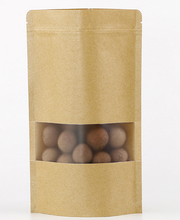 wholesale customized kraft paper food package heat seal medical bag