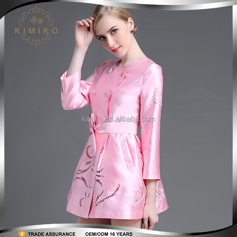 Dongguan Clothing 2016 Ladies Fashion Dresses Embroidered Style