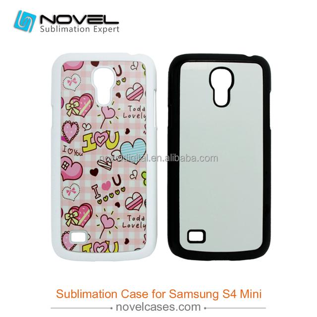 Diy 2D Plastic Sublimation Mobile Phone Case for Samsung S4 mini