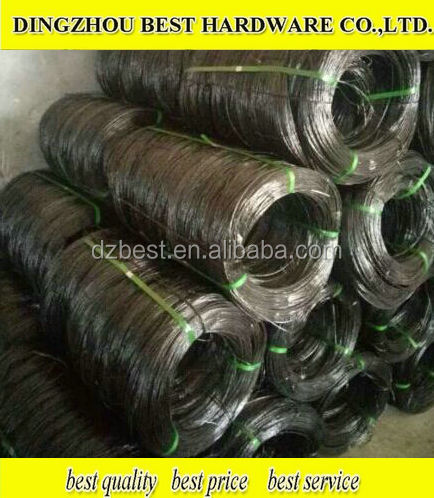 Double twisted black annealed iron wire
