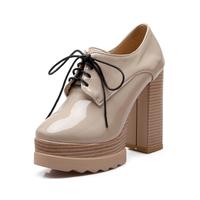 Buy China shop online Low MOQ plain color High Top Heels Ladies ...
