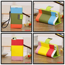 Rainbow leather mobile phone accessory for samsung galaxy s3,many modles