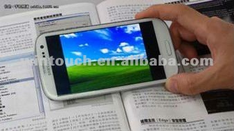4.0/4.3//4.8/5/5.3inch Android 4.0 MTK6577 S3 i9300 mobile phone
