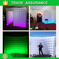 inflatable wall amd inflatable halloween photo booth combination