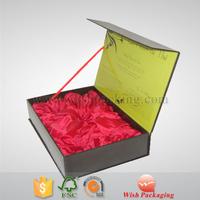 Tea tool Satin fabrics Chipboard package box set cardboard paper gift box