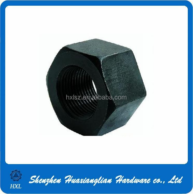 China supplier black bolts nuts