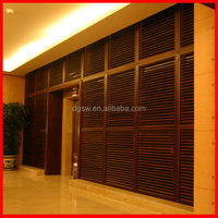 Best price outdoor Faux wood horizontal wood like Window Blinds PVC waterproof window blind