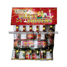 Confetti champagne bottle wedding Party Popper wholesale Fireworks factory direct price