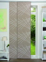 100%polyester panel shutter custom blinds maunfacture
