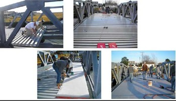 FRP bridge profiles ISO9001 14001 18001 CE