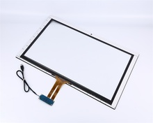 Hot sell 23.6 inch transparent glass touch screen