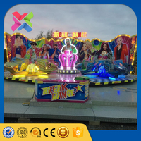 Buy amusement rides in Zhengzhou amusement ride crazy dance manufacturer