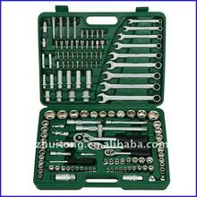 "138-Piece 1/4"",3/8"",and 1/2""Drive Socket & Combination Wrench Set"