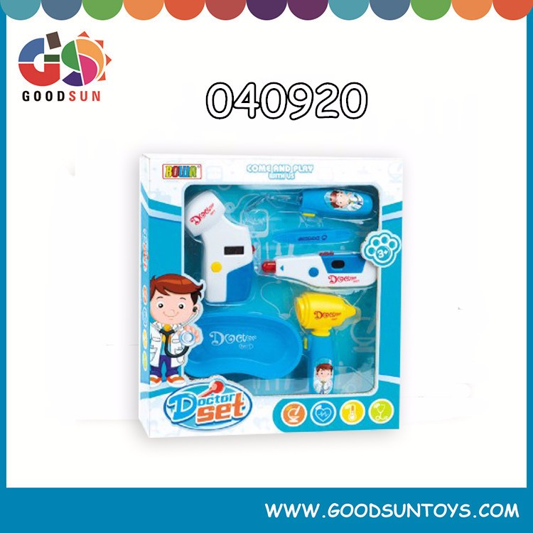 Hot new products for 2015 simulation medical play house toy kids doctor play set toy