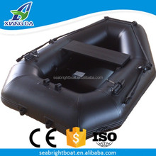 CE Approved PVC or Hypalon Material Foldable Inflatable Pontoon Small Lightweight Folding Boat China